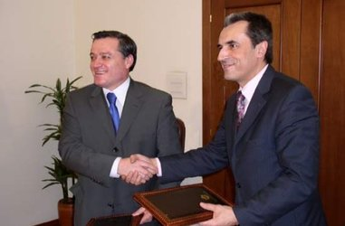 Minister of Finance Plamen Oresharski and his Albanian counterpart Ridvan Bode signed Memorandum of Understanding between the two institutions