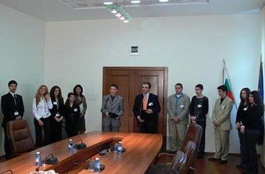 The Manager for One Day initiative was conducted at the Ministry of Finance for a fourth year in a row