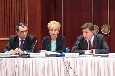 "Minister of Finance Plamen Oresharski opened the discussion forum on the ""National Strategic Reference Framework"""