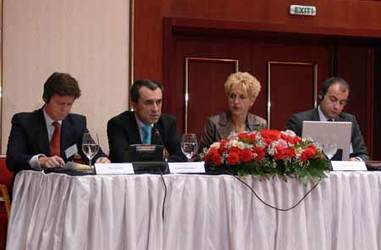 "The Minister of Finance opened the discussion forum on ""Public-Private Partnership in Bulgaria\"""