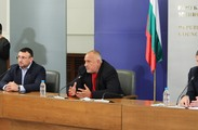 Press-conference of the Minister of Finance Vladislav Goranov and the Prime Minister